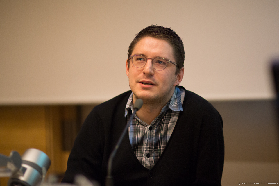 Ville Blåfield, Helsingin Sanomat.